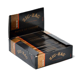 Zig-Zag Rolling Papers King Size Blacks