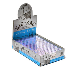 Zig-Zag Ultra Thin Rolling Papers 1 1/4