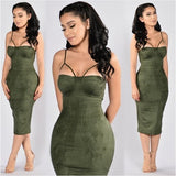 Back To The Basics Suede Dress - The Luxe Beauty Co.