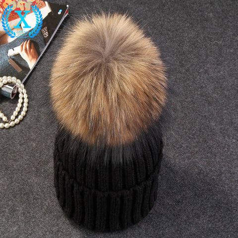 Puff Ball Beanie - The Luxe Beauty Co.