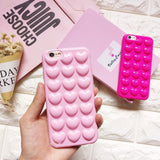 3D Heart Shape Candy Phone Case - The Luxe Beauty Co.
