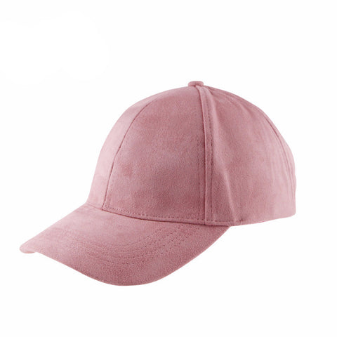 Suede Baseball Cap - The Luxe Beauty Co.