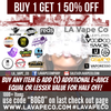 LA Vape Co Has Gone BOGO! Buy 1 Get 1 Half OFF!