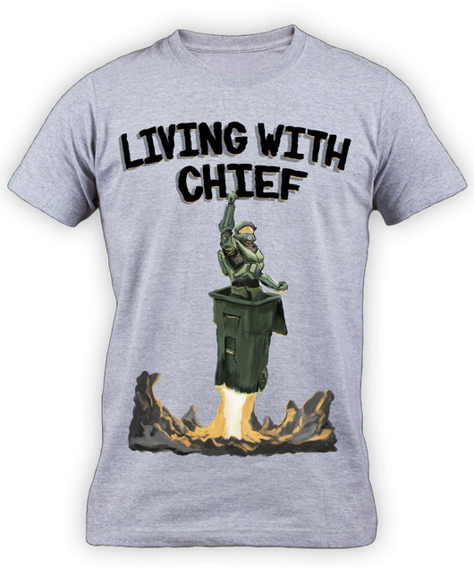 Living With Chief Shirt LIMITED EDITION