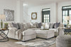Signature Design by Ashley Dellara Sectional with Chaise - Wayne's Outlet