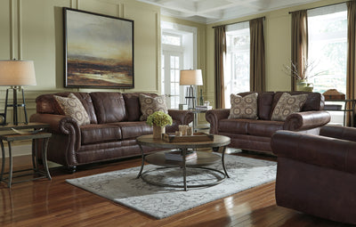 Signature Design by Ashley Halton Hills  Sofa and Loveseat - Wayne's Outlet