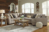 Hilltop Oversized Sectional with Cuddler or Chaise - Wayne's Outlet