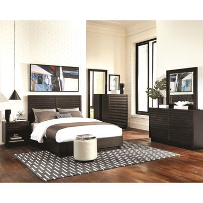 Scott Living Matheson 4 Pieces Bedroom Set - Graphite, Queen - Wayne's Outlet