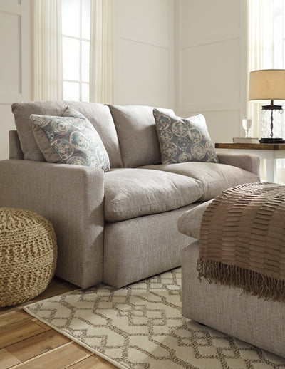 Bliss Feather Down Sofa and Loveseat - Wayne's Outlet