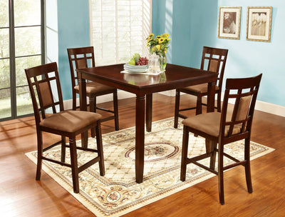 FINLEY 5-PIECE COUNTER SET (5 IN 1) - Wayne's Outlet