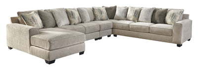 Signature Design by Ashley Ardsley Sectional with Chaise - Wayne's Outlet