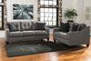 Signature Design by Ashley Brindon  Sofa and Loveseat - Wayne's Outlet