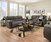 Simmons Upholstery BEALE GREY Sofa and Loveseat - Wayne's Outlet