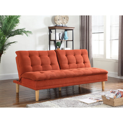 Dubreuil Button Tufted Modern Convertible Sofa - Wayne's Outlet