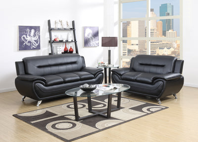 MEMPHIS PU LEATHER SOFA AND LOVESEAT - Wayne's Outlet