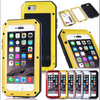 Waterproof Shockproof Aluminum Gorilla Glass Metal Case Cover For Apple iPhone - Wayne's Outlet