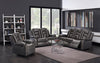 LINCOLN FAUX LEATHER RECLINING SOFA, LOVE SEAT & RECLINER - Wayne's Outlet