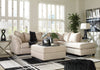 Signature Design by Ashley Darcy Sectional in Sand - Wayne's Outlet