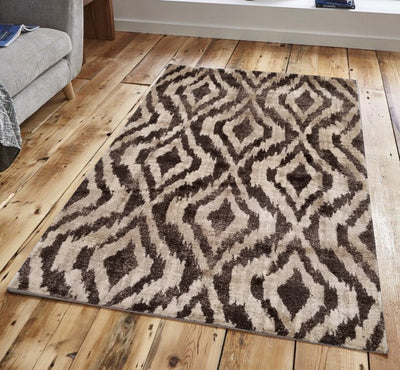 Ophelia Shag by Pierre Cardin, High Pile and Thick Area Rug - Wayne's Outlet
