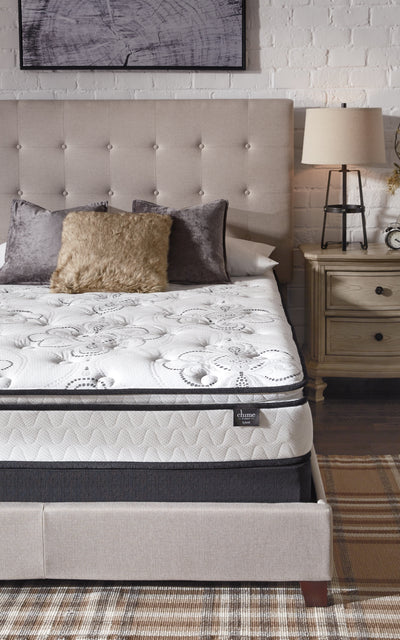 "Sierra Sleep by Ashley 10"" Pillow Top Queen Mattress - Wayne's Outlet"