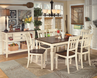 Whitesburg 6 Piece Dining Room Set - Wayne's Outlet