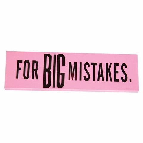 Big Mistakes Eraser -  - EPIC! Giftables