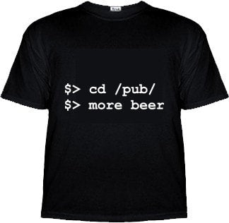 $> cd /pub/ $> more beer Computer Shirt - Tees - EPIC! Giftables