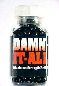 Damn It All! Novelty Pills -  - EPIC! Giftables