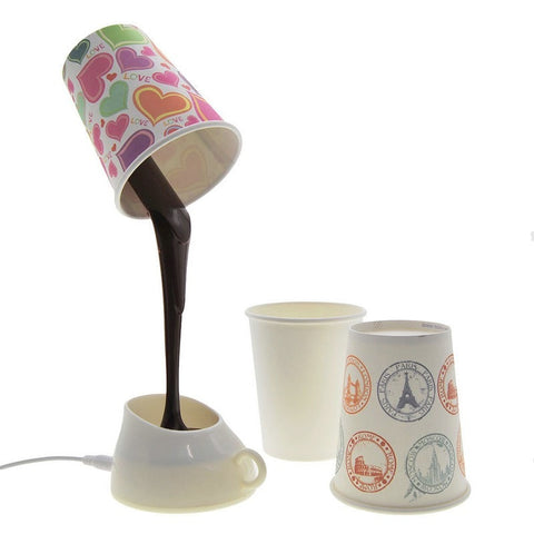 Design-It-Yourself Coffee Lamp