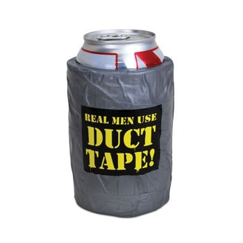 Duct Tape Drink Koozie -  - EPIC! Giftables