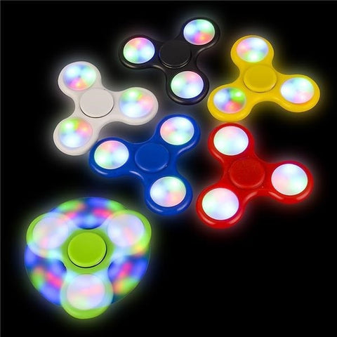 Light-Up Fidget Spinner Stress Toy