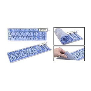 Roll-up Flexible Keyboard USB -  - EPIC! Giftables