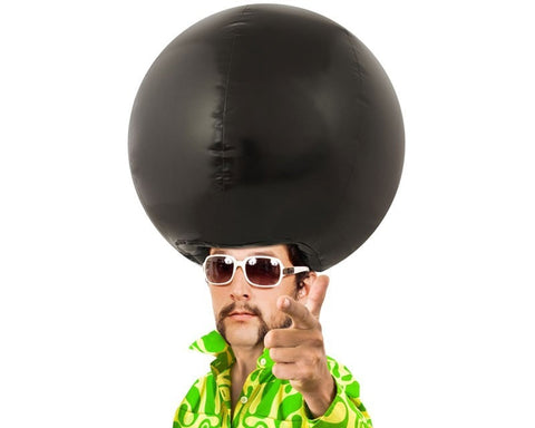 Inflatable Afro