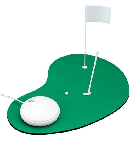 Golf Ball Mouse & Course Game Mousepad -  - EPIC! Giftables