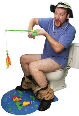 Hook, Line & Stinker Toilet Fishing Game