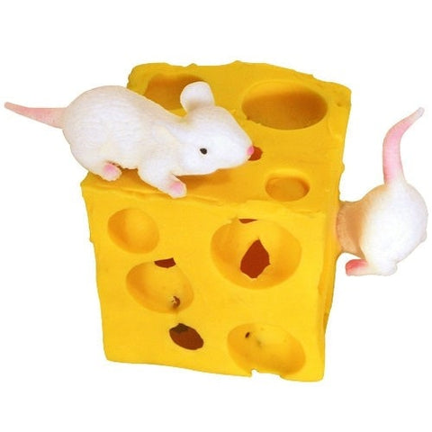 Hyperflex Stretchy Cheese and Mice -  - EPIC! Giftables