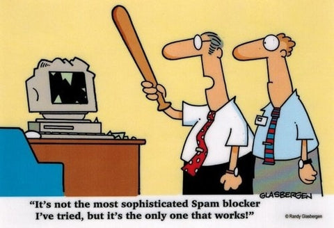 It's Not The Most Sophisticated Spam Blocker... Sign -  - EPIC! Giftables