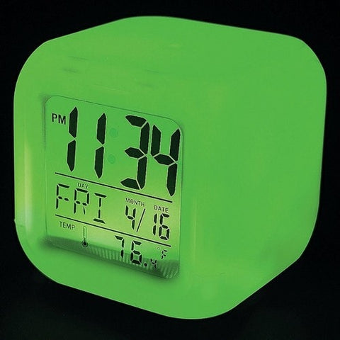 LED Color-Changing Mood Clock -  - EPIC! Giftables