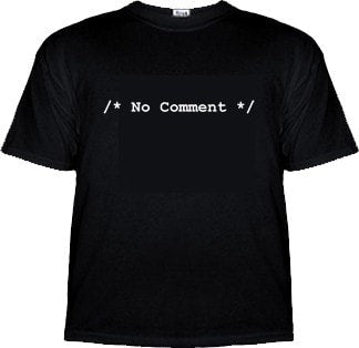 /* No Comment */ Computer Programmer Shirt - Tees - EPIC! Giftables