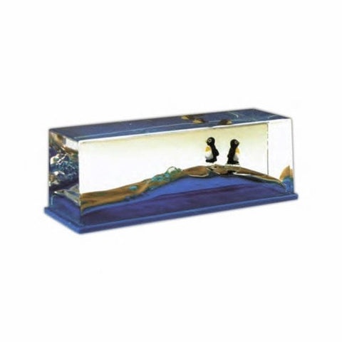 Penguin Ocean Wave Paperweight -  - EPIC! Giftables