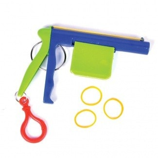 Rubber Band Shooting Keychain -  - EPIC! Giftables