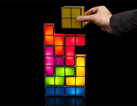 Stackable Tetris LED Desk Light