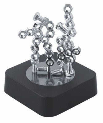 Stacking Nuts & Bolts Magnetic Sculpture