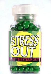 Stress Out Novelty Pills