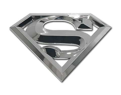 Superman 3D Car Emblem