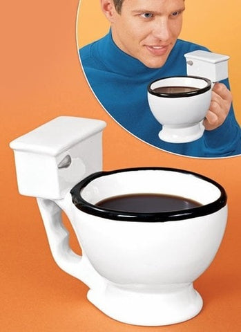 The Crapper Cup Toilet Mug