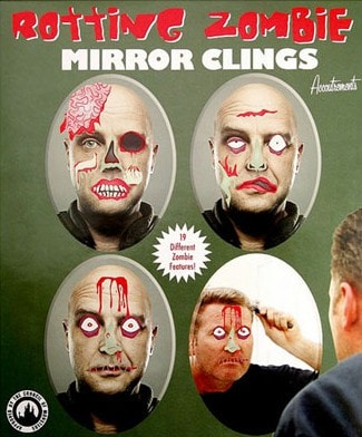 Rotting Zombie Mirror Clings -  - EPIC! Giftables