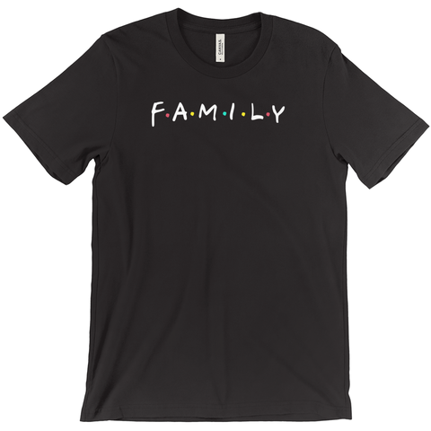 Family Not Friends Tee