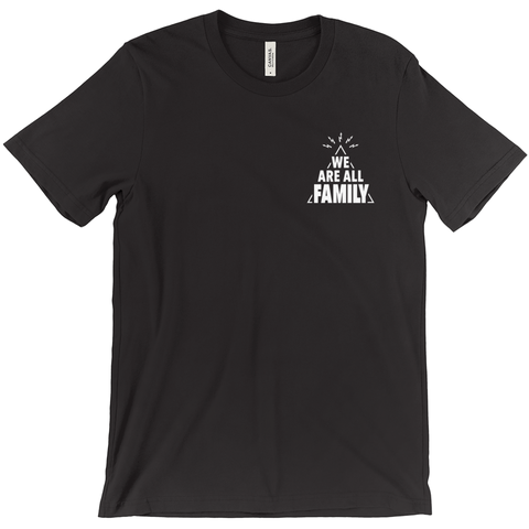 We Are All Family Pyramid Tee