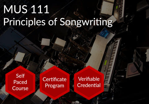 MUS 111  |  Principles of Songwriting